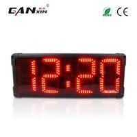 [Ganxin] Nieuwe 8 Inch 4 cijfers Outdoor gebruik Waterdichte LED Marathon Timer Grote Display Klok gebruikt voor buitensporten