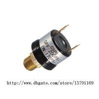 Robuste soupape de commande de pression d'air de 90 à 120 psi pour compresseur d'air noir