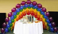 Link-O-Loon Qualatex Balonlar Doğum Günü Noel Düğün Balon DIY Bağlama Çelenk Arch Parti Süslemeleri 12 '' 10 '' 6 '' dükkanı dekor