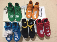 Size 5- 13 Human Race NMD Real Boost Yellow Blue Red Green Bl...
