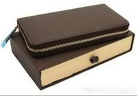 Top Qualität Neueste Stil PU Leder Männer und Frauen Brieftasche Geldbörsen Geldbörse Kartenhalter (4 Farbe für Pick) # 60734