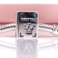 Auténtica plata de ley 925 Érase una vez encanto Fit DIY Pandora pulsera y collar 791109