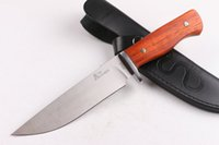 Pequeño Python Boyd Boyd Camping Camping Pesca Senderismo Táctico Combate Caza Cuchillo de cuchilla fija