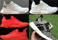 2017 newest fashion red NMD Runner R1 Primeknit PK Low Men&#...