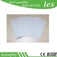 Le meilleur 100 pcs / lot F08 carte vierge intelligente / cartes minces de PVC Carte RFID 13.56MHz IC / carte ISO14443A 1K intelligente
