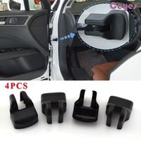 4pcs 안티 녹 자동차 도어 제한 스토퍼 버클 커버 케이스 Toyota Coralla Avensis Rav4 C-HR Auris Camry Yaris Car Styling 액세서리
