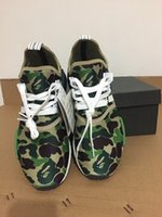 2017 Originals NMD R1 camo NMD runing shoes Real Boost NMD c...