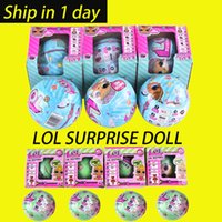 LOL SURPRISE DOLL Series 2 Dress Up Toys baby Tear change egg can spray Реалистичные детские куклы Lil sisters 45+ для сбора OTH646