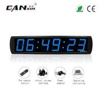 [GANXIN] 4 inç 6 Haneli LED Ekran Dijital Ofis Saati Garaj Sürümü Duvar Zamanlayıcı geri sayım saat