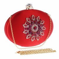 Wholesale- Diamonds women evening bags small purse clutches ...