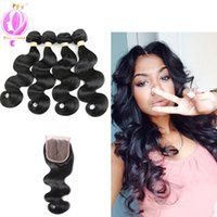 Brazilian Virgin Hair Body Wave Human Hair 4 Bundles Weaves ...