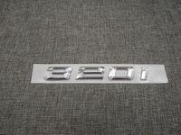 الكروم عدد جذع الخلفية خطابات كلمة شارة شعار ملصق ل BMW 3 سلسلة 320i