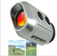 Portable Digital 7X Golf Scope Entfernungsmesser Entfernung 1000m mit gepolsterten Fall digitalen Golf-Bereich Outdoor Golf Single-Rohr-Entfernungsmesser