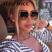 ALOZ MICC Lady New Design Sunglasses Square Driving Mirror C...