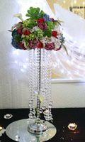 neu dekorierte Hochzeitsetagen Kristallsäulen mit Acrylperlen