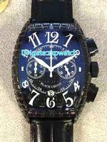 Супер клон дешевый бренд черный Croco 8880 CH BLK CRO цвет мечта кварцевые мужские часы черный циферблат змеиная кожа шаблон пены ремешок часы 27