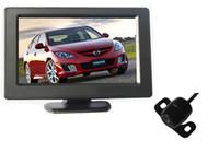 Sistema di retrovisione dell'automobile Sistema di retrovisione dell'automobile PZ601 PZ601C Fotocamera digitale a 4,3 pollici a 4,3 pollici Pixel 648 * 488 Video bidirezionale