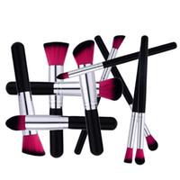 10 stücke Mini Makeup Pinsel Sets Professional Foundation BB Creme Gesicht Pulver Nylon Haar Kabuki Make Up Pinsel Kits Werkzeuge