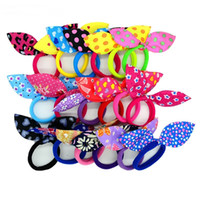 Rabbit ears Hair band Children Hair Accessories kids Scrunch...