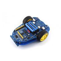 Freeshipping 1set Raspberry Pi 3 Modelo B + AlphaBot + Cámara AlphaBot Smart Car Raspberry Pi Robot Kit de construcción Diseño de recursos de código abierto