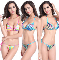 sexy gather chest bikini backless tight dry fast women swims...