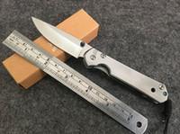 Frete grátis New Chris Reeve 440 Lâmina Sebenza 21 Estilo All Steel Handle VTF39 Bloqueio de Linha de bolso Folding faca
