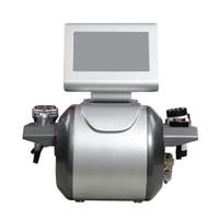 Radio frequência tripolar bipolar 8 polar cavitação ultra-sônica RF máquina de emagrecimento da cavitação da máquina de ultra-som para gordura reduza