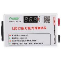 Freeshipping Taşınabilir LED Şerit Işık Lambası Paneli Boncuk Regüle Gerilim Diyot Tester Metre Voltmetre Otomatik Ayarlama AC85-265V DC0-220V