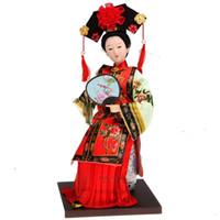 Tang Fang Tang bambola Arredamento per la casa vera seta decorazioni regali artigianato regali degli affari esteri della dinastia Qing Principessa