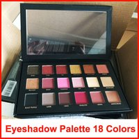 18 Colors Eyeshadow Palette Rose Gold Textured Palette Makeu...