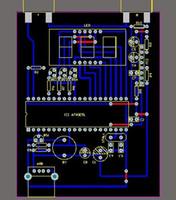 초음파 거리 측정 모듈 HC-SR04 51 MCU 초음파 거리 측정 회로도 PCB 소스 Rangefinder Module Wave
