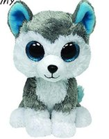 Original Ty Beanie Boos Big Eyes Plush Toy Doll Colorful Hus...