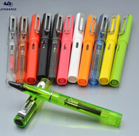 JINHAO 599 EF nib 7 Colors Fountain pen with Silver Clip sch...