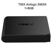 20pcs T95X Android tv box Amlogic S905X Quad- Core Android 6....