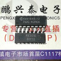 KM4164B-12. KM4164B-15. KM4164B-10, KM4164B, RAM 64KX1 BIT DINÂMICO COM MODO PÁGINA ICs integrados / pacote PDIP em linha dupla de 16 pinos PDIP