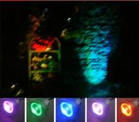 10W RGB LED 투광 수중 LED 홍수 빛 수영장 옥외 방수 RGB LED 램프 둥근 조경 빛