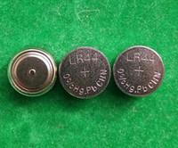10000ピース/ロット、0%HG PB Mercury Free AG13 LR44 A76 1.5Vアルカリボタンセル電池コインセル電池