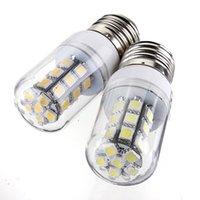 Высокое Качество E27 3 Вт 350LM 27 LED 5050-SMD Энергосберегающие Чистый Теплый Белый Кукуруза Свет Лампы Лампы AC / DC12V
