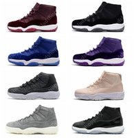 11 Velvet Heiress Wool Grey Suede Space Jams 72-10 Legend Blue Uomo Donna GS Sports Scarpe da basket Sneakers 11s Athletics With Box