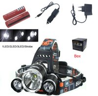 Led Headlamp Headlight 8000 Lumens Linterna Frontal 3x XM- T6...
