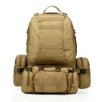 Neue 50L Molle Tactical Assault Outdoor Militärrucksäcke Rucksack Camping Tasche Große 11 Farbe Freies Verschiffen Großhandel