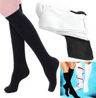 2017 Nowy Wysokiej Jakości Skarpetki Cudowe Anti Zmęczenie Skarpety Skarpety Nogi Skarpety Odchudzające Skarpety Calf Skarpety Reliefowe Skarpety
