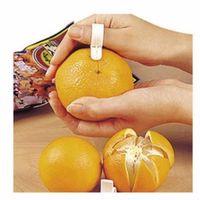 1000Pcs / Lot Gadget da Cucina Creativi Strumenti di Cottura Mandarino Arancia Peeler Tipo di Barretta Parer Sapientemente aperto Arancione Peel Dispositivo Arancione