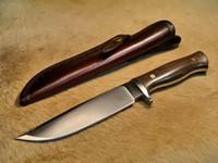 Lo nuevo Bowie Python II D2 Cuchillo de hoja fija 60HRC Tactical Camping Senderismo Caza Supervivencia Cuchillo Herramientas militares K Funda de regalo Funda de regalo