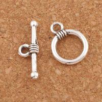 Anel suave Pulseira Alterna Fechos Tibetano Prata / bronze Resultados Da Jóia Componentes para Colar e Pulseiras DIY L830 11X15mm