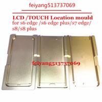 Najlepsza Precyzyjna Metalowa Molor LCD Mold Mold Mold dla Samsung Galaxy S6 S6 Edge Plus S7 S8 / S8 Narzędzia do naprawy krawędzi