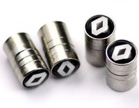 Car- styling Tire Valve Caps For RENAULT Laguna 2 Duster Loga...