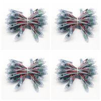 Edison2011 50 шт. 12 мм WS2811 полноцветный светодиодный пиксель свет модуль DC 5V вход IP68 водонепроницаемый RGB 2811 IC цифровой светодиодный рождественский свет