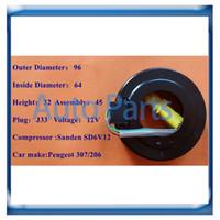 Bobina frizione compressore SD6V12 per Peugeot 206/307