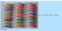 fishing shrimp jig squid hook squid jig mix colours